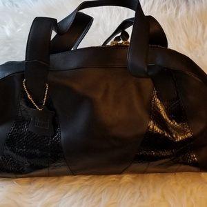 Bloomingdales Genuine Leather Black Purse
